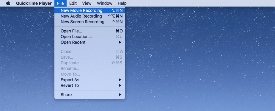 record video on mac